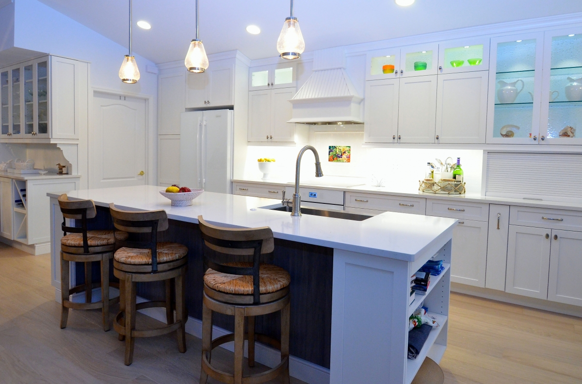 davinci cabinetry shaker styled cabinets naples, florida
