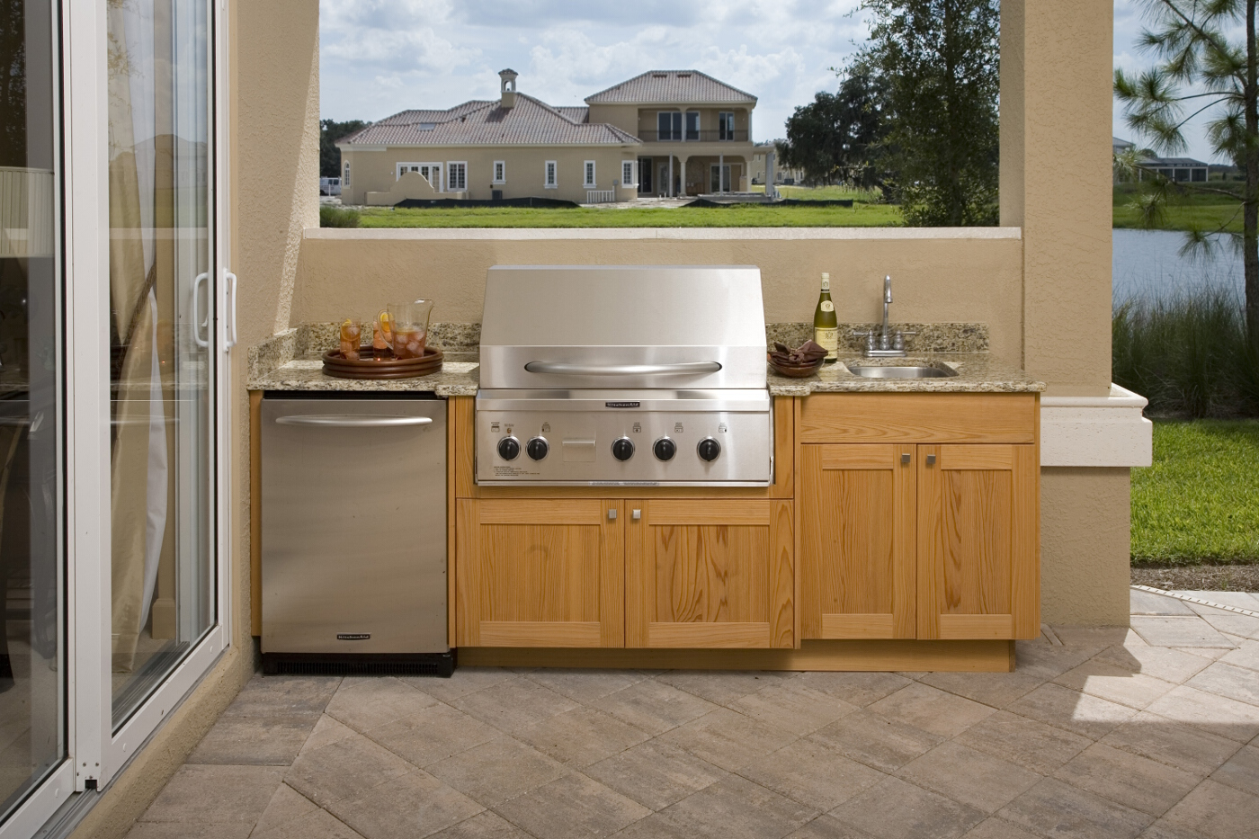 Outdoor Kitchens Da Vinci Cabinetry Bonita Springs, FL