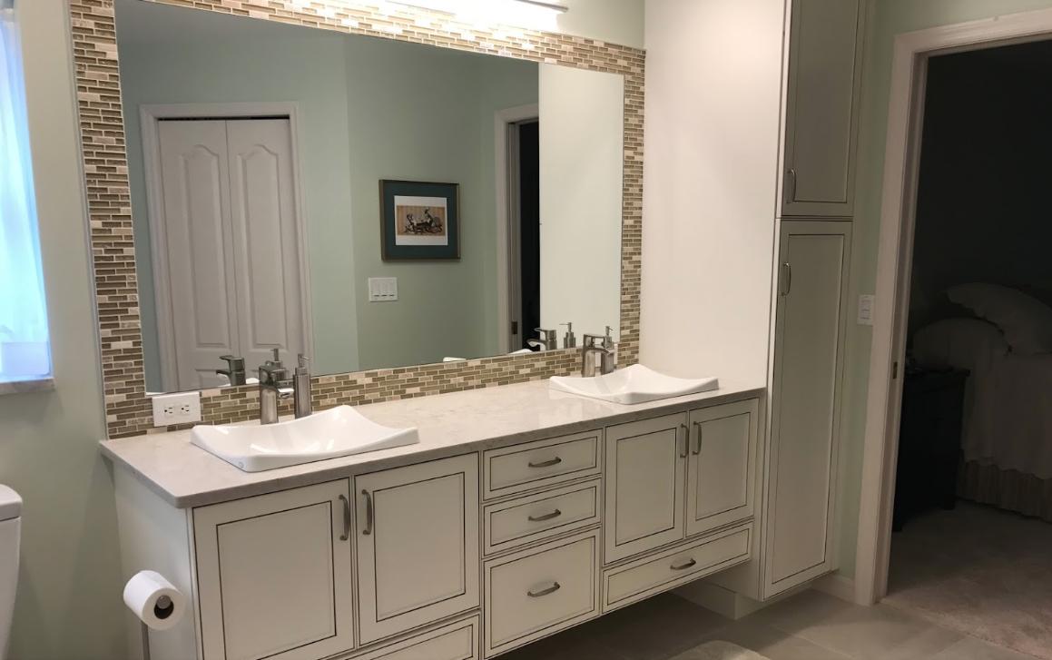 bathroom remodels Da Vinci Cabinetry