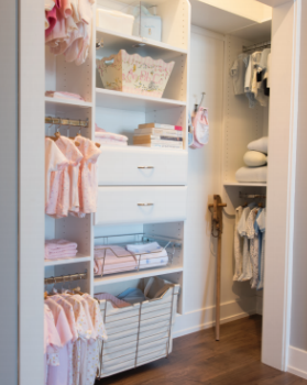 Custom closets by davinci cabinetry